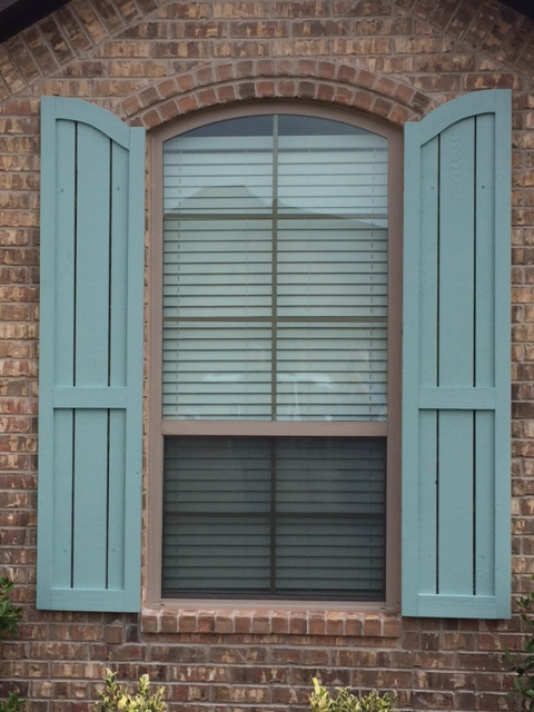 Exterior Shutters in the Oklahoma City Area